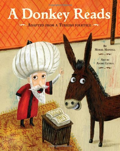 Image of A Donkey Reads
