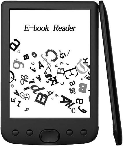Fesjoy BK-6025 Lector de Libros electrónicos portátil Tinta ...
