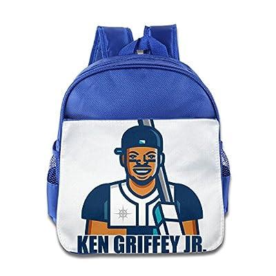 JXMD Custom Funny Ken Griffey Jr. Kids School Bag Backpack For 1-6 Years Old RoyalBlue