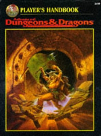 Player's Handbook Advanced Dungeons & Dragons (2nd Ed Fantasy Roleplaying)