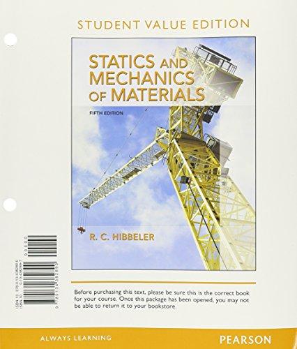 Statics+Mech.Of Materials (Looseleaf)
