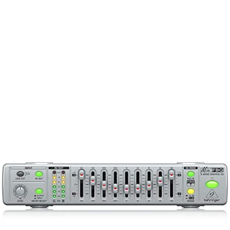 Behringer MiniFBQ FBQ800 Graphic Equalizer PA & Stage at amazon