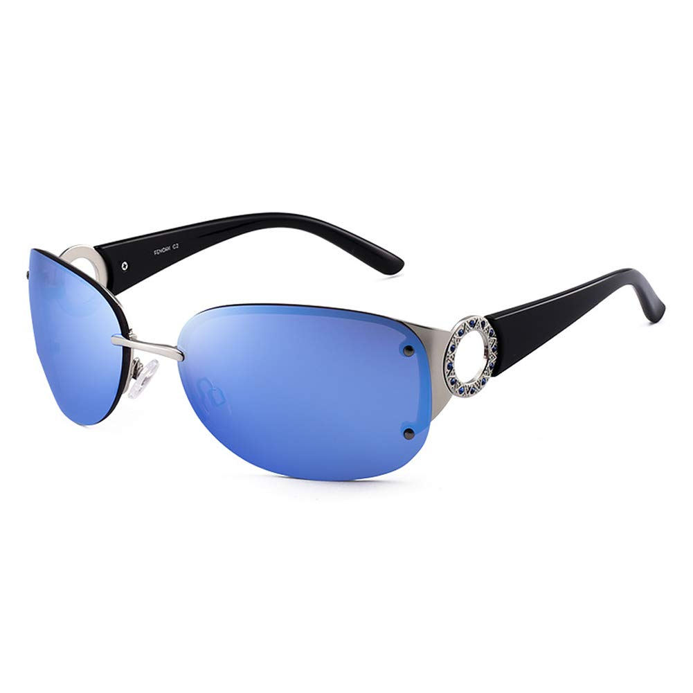 bluee Women's Sunglasses, New Trend Outdoor Sunglasses UV Predection Suit for Sports, Decoration and All Outdoors Activities Girl's Best Gift