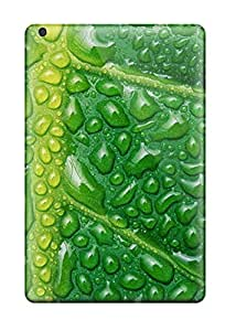 Premium Fresh Watery Leaf Back Cover Snap On Case For Ipad Mini/mini 2