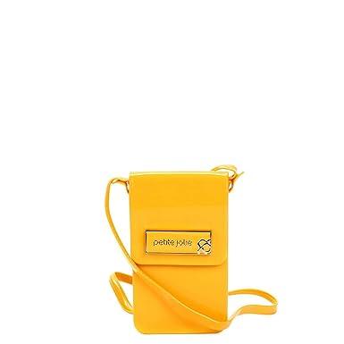 25ce88e564 Bolsa Petite Jolie Mini Bag Verniz Feminina - Amarelo - Único ...
