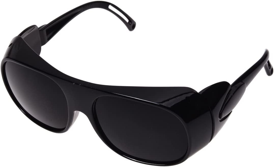 Gafas protectoras - SODIAL(R) Gafas protectoras Gafas de patillas Gafas de proteccion laser Gafas Negro