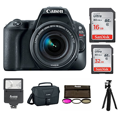 Canon EOS Rebel SL2 SLR Camera with Lens and Accessory Bundle (Starter Bundle) by Canon