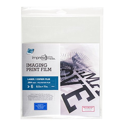 Grafix Impress Print Media Laser Imaging Film 8-1/2-Inch-By-11-Inch Package of ()