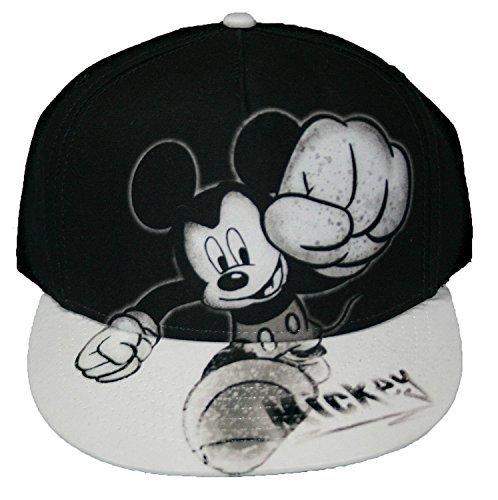 Disney Mickey Mouse Smash Flat Bill Mens' Baseball Hat ()