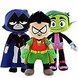(US) Teen Titans Go! Plush Figures Full Set