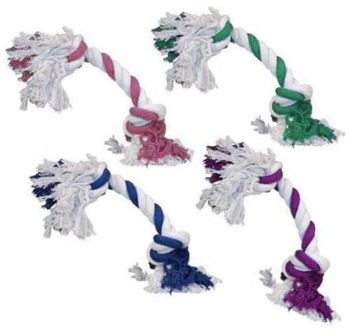 Cotton Rope Bone, Blue [Misc.], My Pet Supplies