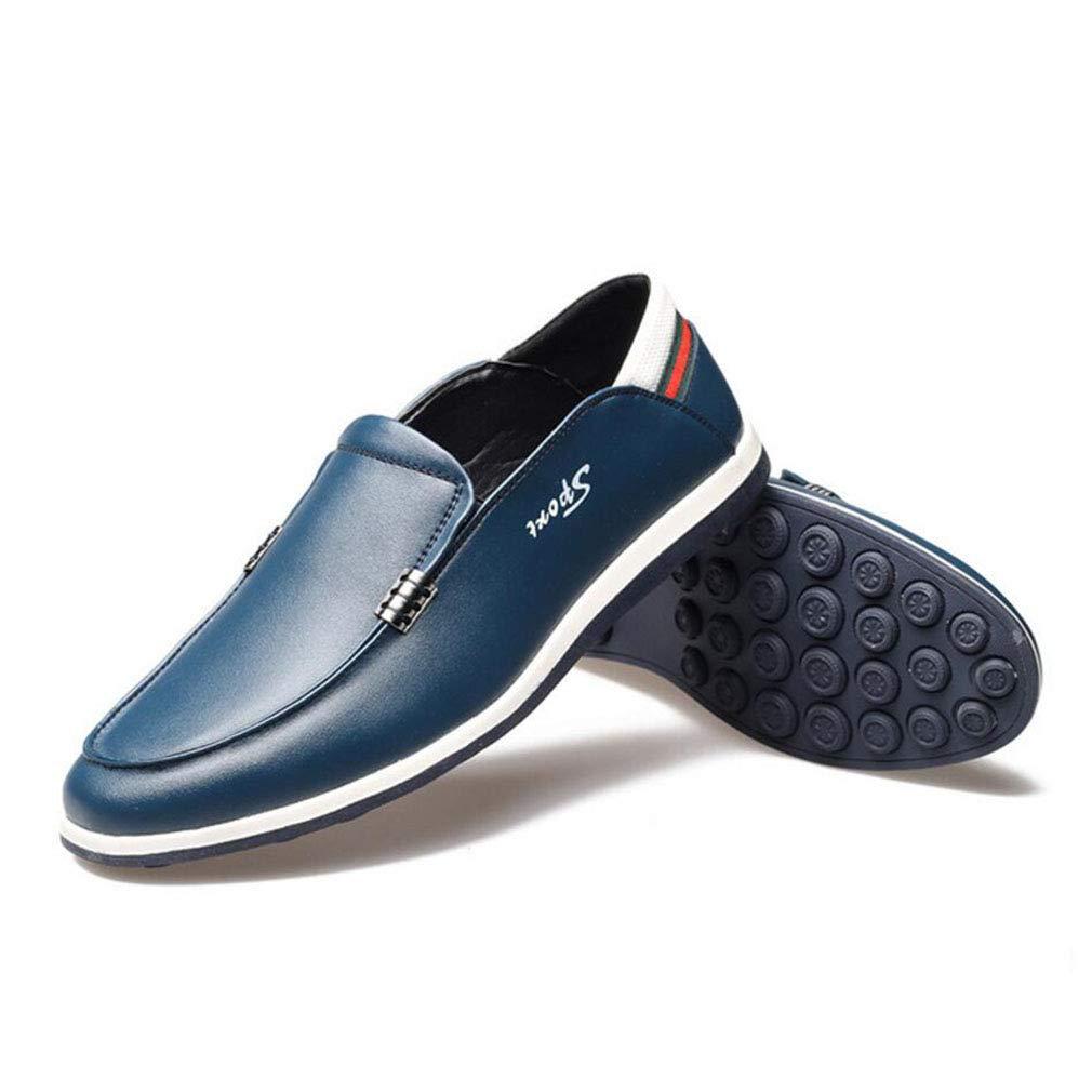 YAN Herren Lederschuhe Casual Fashion Frühjahr & Herbst Loafers Schuhe Casual Flach Fahr Schuhe Hochzeit Casual Schuhe Party & Abend B 4d4c8c