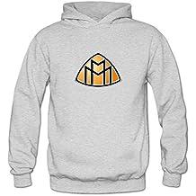 TIANRUN Women's Maybach Car Manufacturer Logo Hooded Sweatshirt Size XXL ColorName