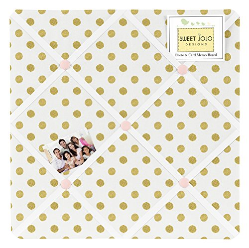 Fabric Memory/Memo Photo Bulletin Board for Blush Pink - Memo Photo Bulletin Board