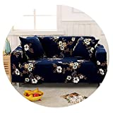 Four Season Non-Slip Sofa Covers Stretch All-Inclusive Polyester Slipcover Elastic Sofa Cushion Sofa Towel for Living Room,Color 5,3 Seater 190-230CM