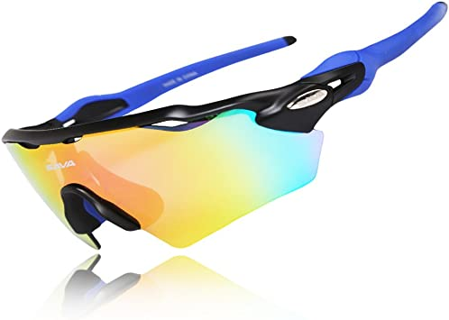 West Biking - Gafas de ciclismo, con 5 lentes intercambiables ...
