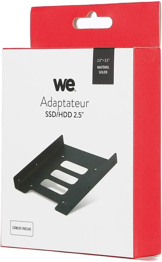 WWE - Adaptador para Disco Duro SSD/HDD de 2,5 Pulgadas (3,5 ...