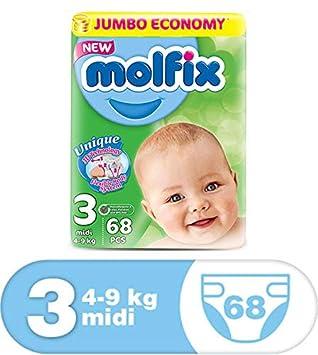Gr/ö/ße 1 160 St/ück 2-6/kg biologisch abbaubar Beaming Baby Windeln Mini