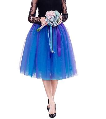 Laus Falda Tul Princesa Mujeres Faldas Midi Fiesta Tutu Ballet ...