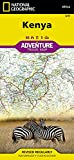 Kenya (National Geographic Adventure Map)
