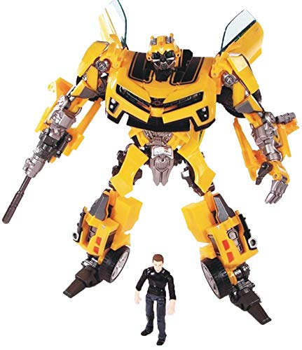 GD-Clothes Transformers Bumblebee Toys-Transformers Bumblebee Figures Toys with Sam Figures-Toys Gift for Kids
