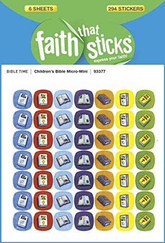 Children's Bible Micro-Mini (Faith That Sticks Stickers)
