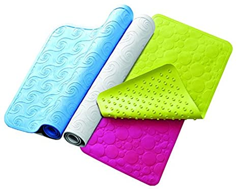 Global Store Non Slip Bath Mat With Suction Cups