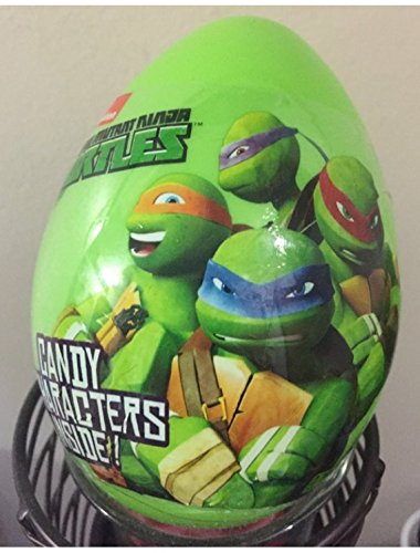 easter egg ninja turtle with candy character inside 4