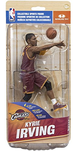 McFarlane NBA 29 Cleveland Cavaliers PG - Kyrie Irving (Wine Cavs Road Uniform) - Collector Level Gold Variant