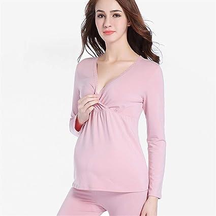 WICHENG Modal de Maternidad Pijamas for Mujeres Embarazadas y ...