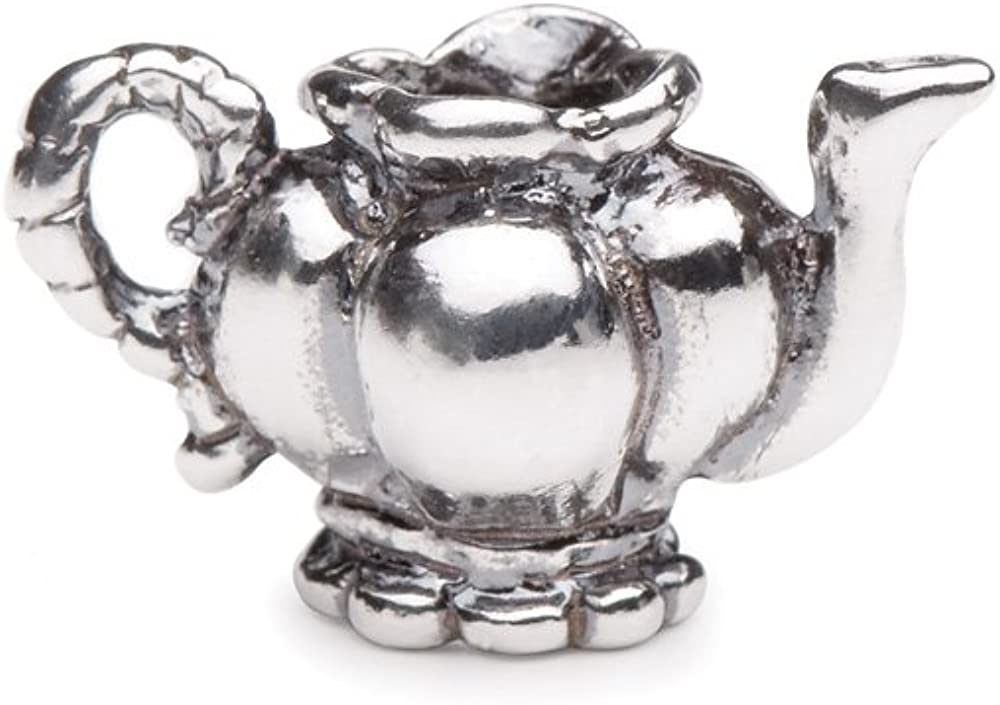 Novobeads Authentic Sterling Silver 1527 Teapot Silver