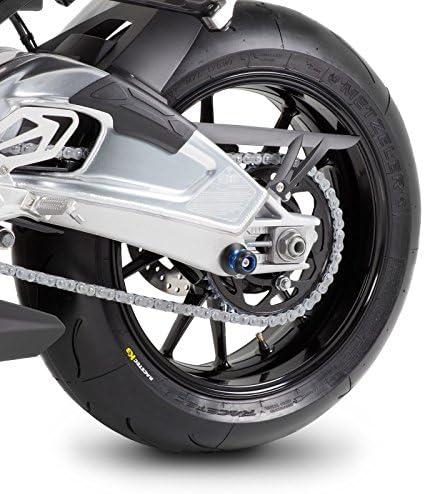 GSX-S 1000// F// 125//750 GSX-R 1000// R//1100//125//600//750 Nottolini Le Mans M8 argento per Suzuki B-King Bandit 1200//1250// S,Gladius 650 GSX 1250 F// FA GSR 600//700