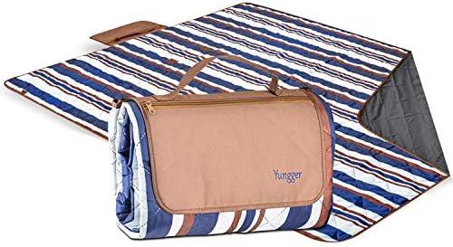 YUNGGER Blanket Beach Camping Machine Washable Water Bottom Multipurpose