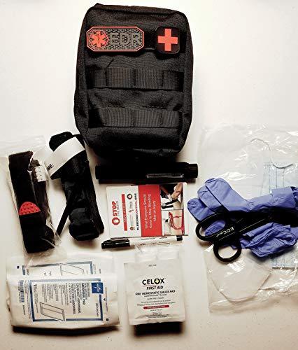 (Every Day Responder Black Bleeding Control Kit, Basic Trauma Pack)