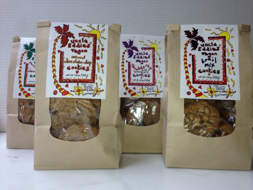 Walnut Chocolate Cookie Mix (Uncle Eddie's Vegan Cookies, Chocolate Chip with Walnuts, 12 oz)