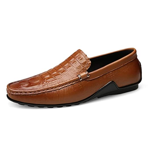 Zapatos de moda de cuero suave y cómodo para hombr Moda ...