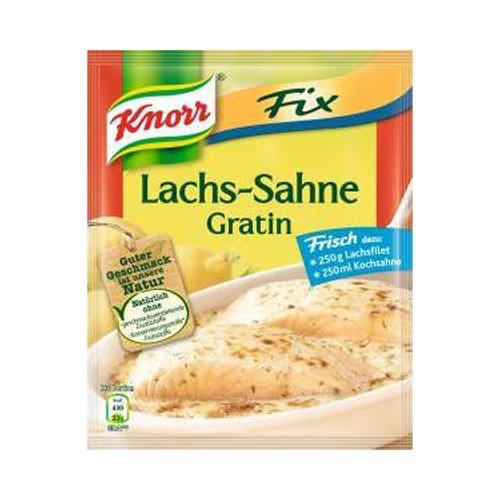 - Knorr Fix creamy salmon gratin (Lachs-Sahne Gratin) (Pack of 4)