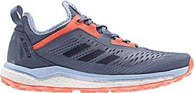 adidas outdoor Terrex Agravic Flow Trail Running Shoe - Women's Tech  Ink/Legend Ink/Hi-res Coral, 9.5