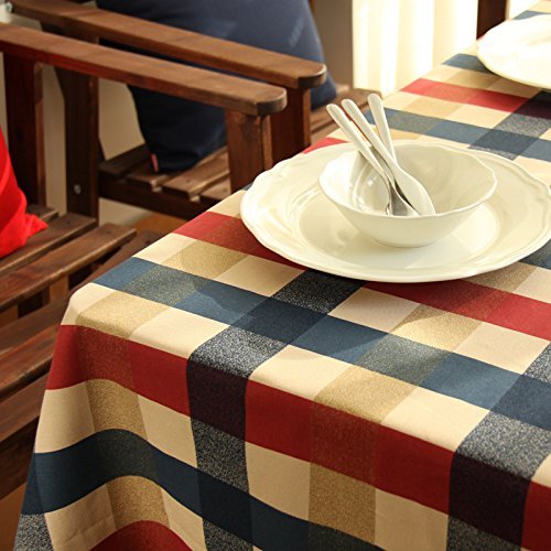 [CNMQAdd atmosphere home accessories Plaid cotton tablecloth table cloth napkins napkins,8080] (8080 Chair)