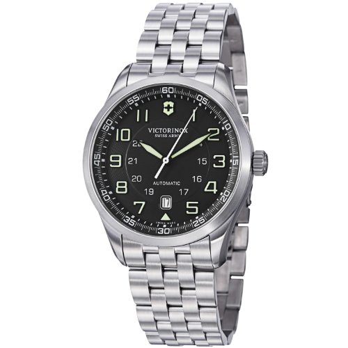 Victorinox-Swiss-Army-Mens-241508-Automatic-Stainless-Steel-Watch