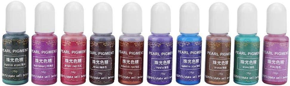 Bricolaje resina epoxi UV colorante colorante colorante ...
