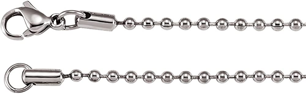 2.4mm Stainless Steel Bead Chain