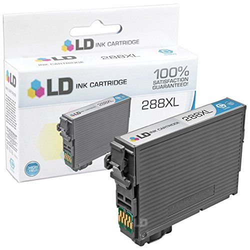 LD © Remanufactured Epson 288 / 288XL / T288 / T288XL Set of 4 High Yield Ink Cartridges (Black, Cyan, Magenta, Yellow) for use in Expression XP-330, XP-430, XP-434 & XP-440 Photo #4