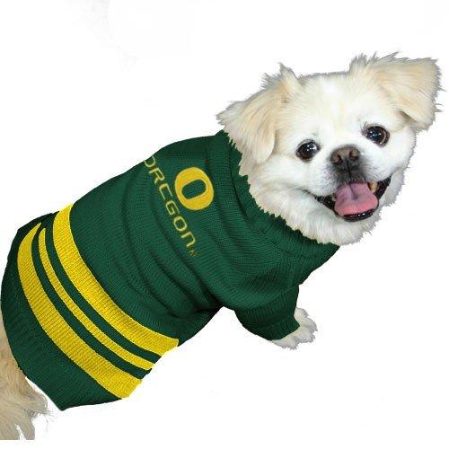 Oregon Ducks Green Pet Sweater (Medium) by Football Fanatics
