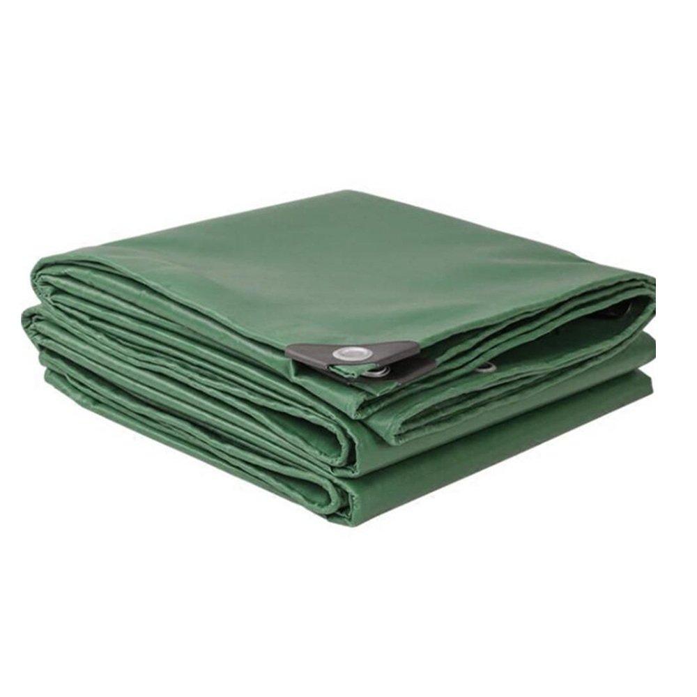 PJ Zelt Wasserdichtes Tuch LKW-Plane \ Oil Cloth \ Outdoor Regen Tuch Cover \ Waterproof Sonnenschutz Leinwand \ Drei Anti-PVC-Beschichtetes 350g \ m² -0,32 mm