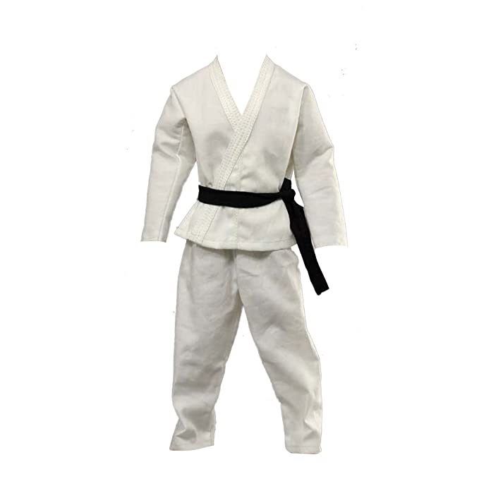 Amazon.es: FLAMEER 1/6 Blanco Karate Judo Traje De ...