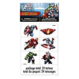 Marvel Avengers Tattoo Sheets, 4ct