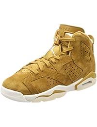 Air Jordan 6 Retro BG Big Kid's Basketball Shoes Golden Harvest