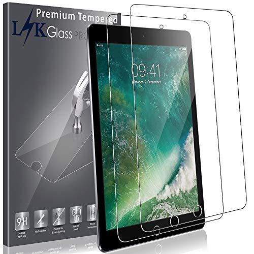 LK [2 Pack Screen Protector for iPad Mini/iPad Mini 2 / iPad Mini 3,Tempered Glass with Lifetime Replacement Warranty (Mini Apple Ipad Screen Protector)