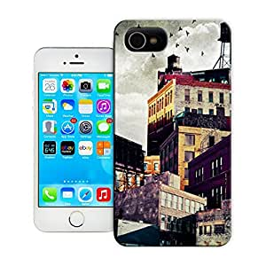 tostore High rise buildings case battery cover for iphone 4/4s